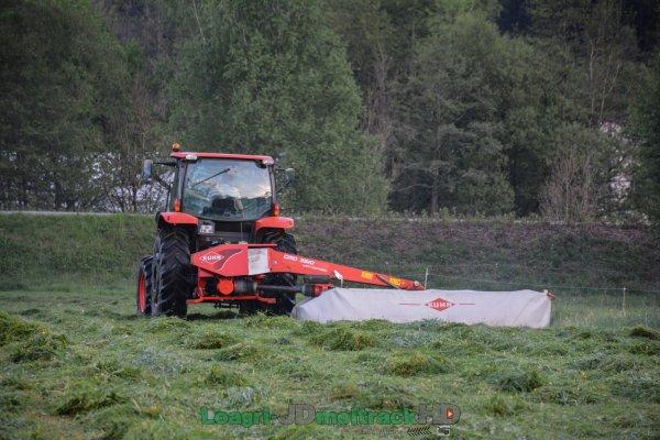 Fauchage 2017 | Kubota M110GX & Kuhn GMD 3510 LiftControl