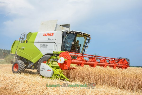 Moisson/Harvest 2017 | NEW Claas Tucano 570 !