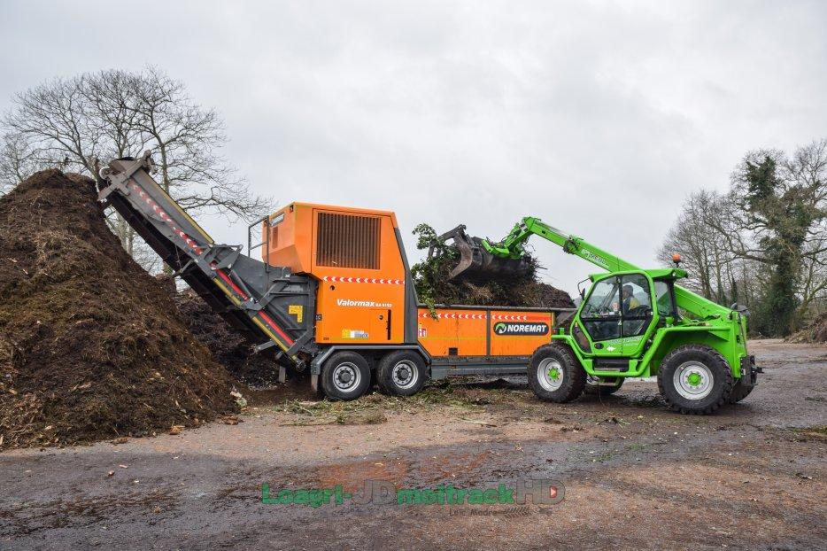 Broyeur rapide Noremat pour déchets verts & bois : le BA-915-D de 530ch !