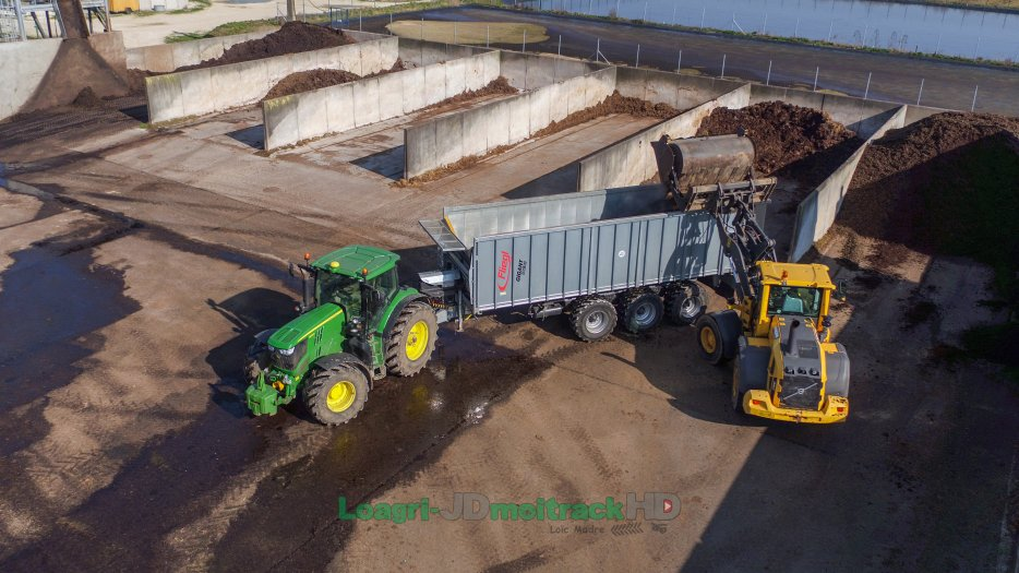 Transport de Digestat 2018 | Fliegl ASW391 & 6210R !