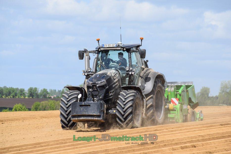 NEW Deutz 7250 WARRIOR & 9340 TTV | Planting Potatoes 2018 !