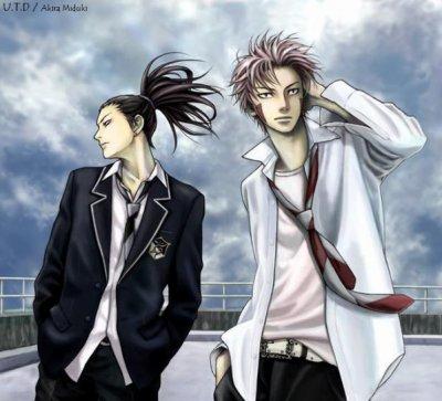 Shikamaru et Kiba