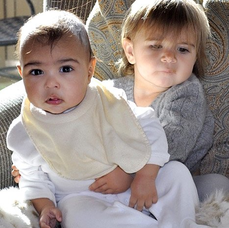 NORTH WEST KARDASHIAN et PENELOPE DISICK