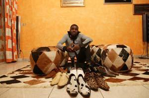 Abou Nidal 2 geneve--- Cé lé moment de faire parler le chaussures!!!