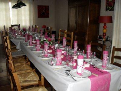 Ma table de communion blog de xx capuc3 xx - Deco de table communion fille ...
