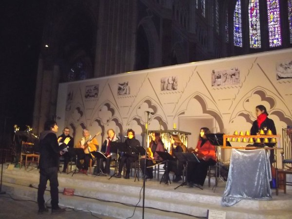 médiévale / Chartres cathédrale (2012)