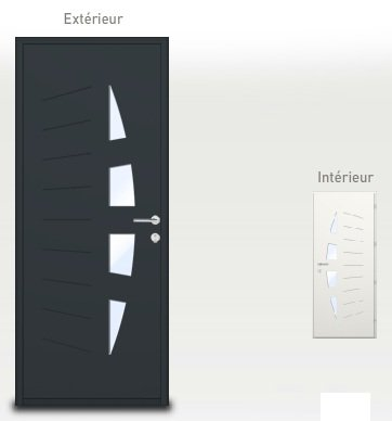 la porte d 39 entr e notre maison en vend e. Black Bedroom Furniture Sets. Home Design Ideas