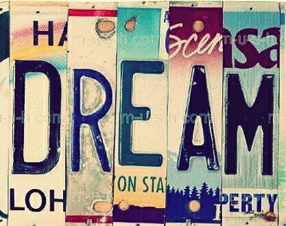 Vivre = Dream, Believe and Imagine