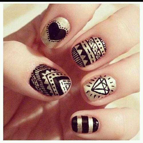 nail art swag