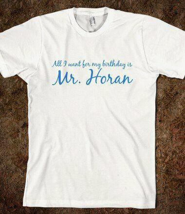 T-Shirt Niall Horan