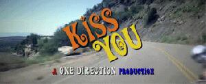 Gif Kiss you one direction
