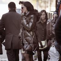 Katy quittant son appartement à New-York le 9 novembre.  Cliquez sur les images pour voir les photos ;)