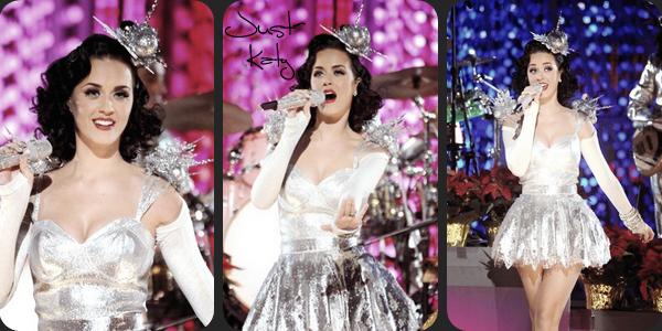 """30/11/10; Katy au répétitions des Grammy Awards au """" Club Nokia """" à L-A. Top ou flop ? Selon moi c'est un flop =/"""