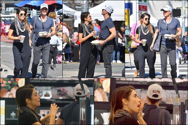 25.02.2019 :Ian était avec son épouse Nikki se promenant dans le quartier de Los Angeles - Studio City  Encore une sortie de nos amoureux qui se sont accordés une journée shopping et pause café à Studio City - C'est un beau top pour moi