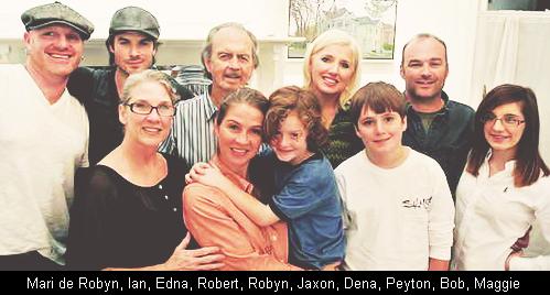 """"""" ● ●Découvrez sans plus attendre la famille Somerhalder un petit article pour changer et vous montrer la famille de Ian. """""""