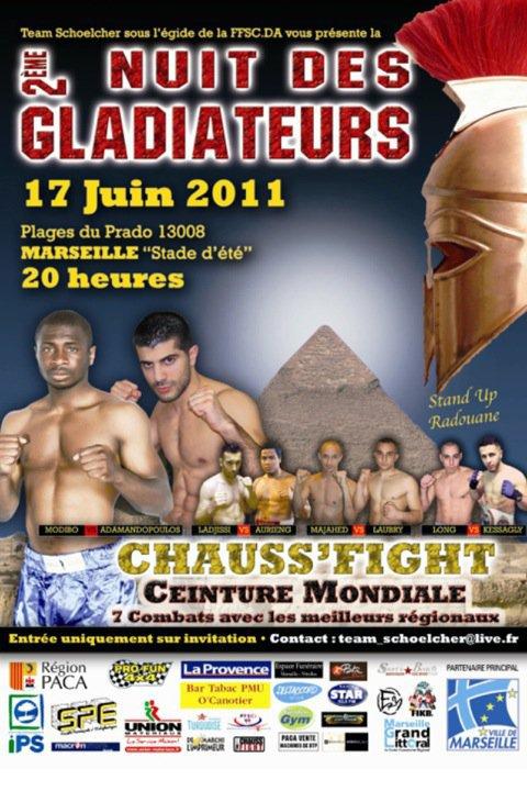 2eme Nuits des Gladiateurs.