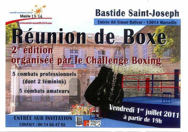 Vainqueur Challenge Boxing à Marseille par K.O