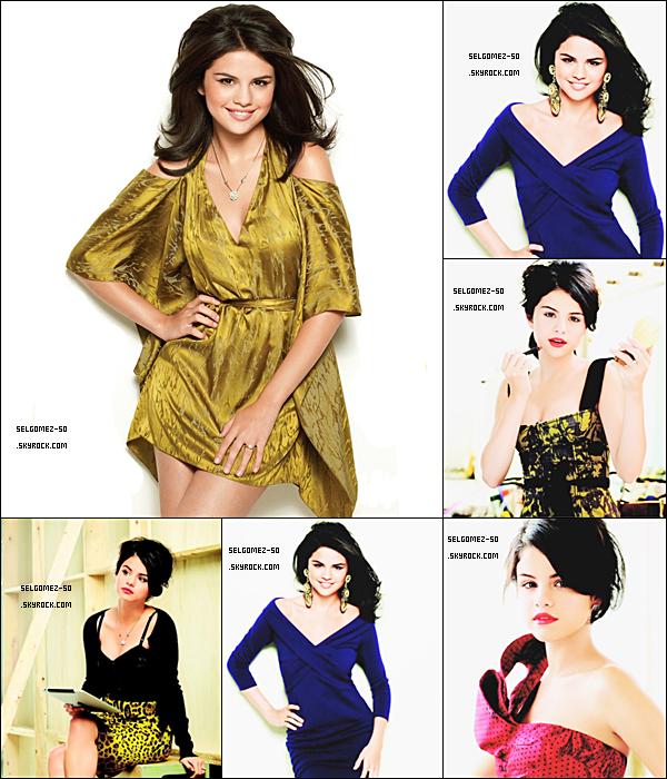 * Photoshoot pour« Latina Magazine ». Elle dit : « J'ai 18 ans, mais j'ai toujours l'impression d'en avoir 15 . Je me sens très jeune dans les histoires de c½ur & j'ai toujours autant envie de sauter sur mon lit .Tu ne sais pas vraiment si tu es amoureux à cette âge, je ne sais pas encore ce q'est l'amour. Je voudrais quelqu'un de cool, qui adore la famille en général » ... Selena Gomez à dit sur son Twitter & Facebook : « LE CLIP DE 'A YEAR WITHOUT RAIN' EST #1 SUR iTUNES ! »___ Une Vidéo : ici.  *
