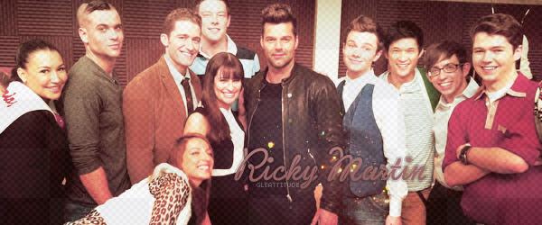 Ricky Martin dans le GLEE cast. ça donne quoi?