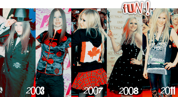 Article III :: Les tenues 'Awards' d'Avril.