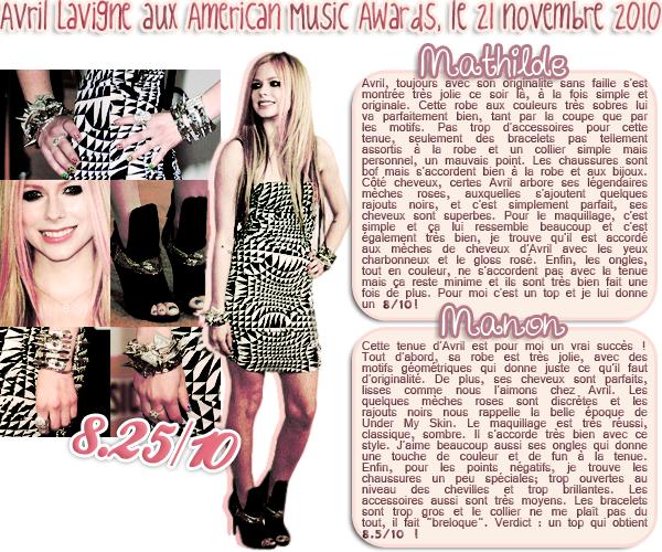 Article XI :: La mode façon Avril Lavigne.