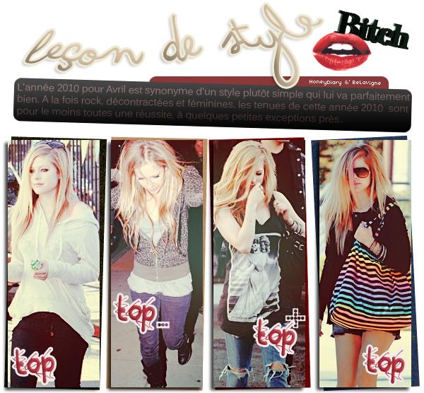 Article XII :: Le style d'Avril en 2010. | En partenariat avec HoneyDiary.