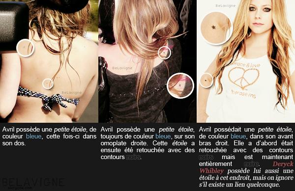 Article XV :: Les tatouages d'Avril, partie I .