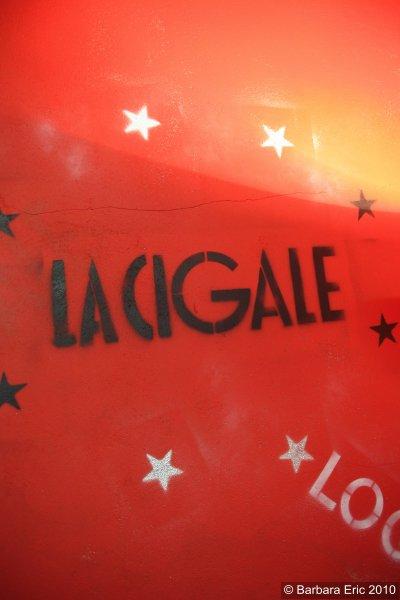 """CIGALE 2010 2011...""""MONIQUE DEMANDE CAISSE 12"""" A LA CIGALE"""