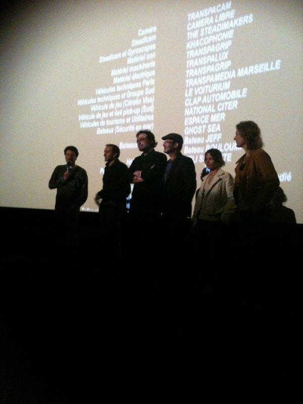 Anne flore tarnaud à l'avant première du FILM Ducobu 2 avec Elie semoun et son équipe :
