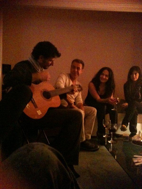 soirée libanaise en musique entre artiste