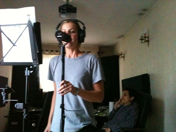 Album studio enregistrement NOW.....