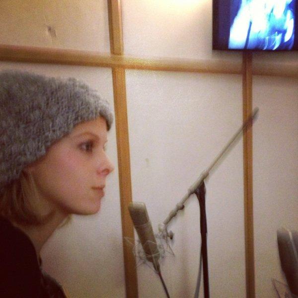 Studio d enregistrement sur mon album