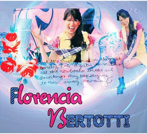 Et voici notre belle Florencia