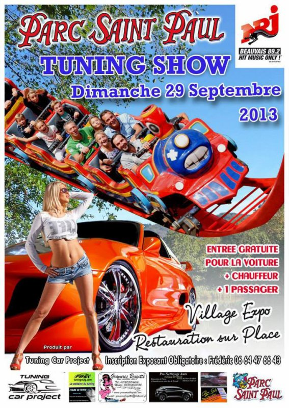Tuning Show au Parc Saint Paul