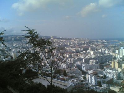 This is the city where I live ....Algiers