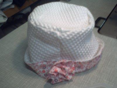 chapeau en nid d'abeille