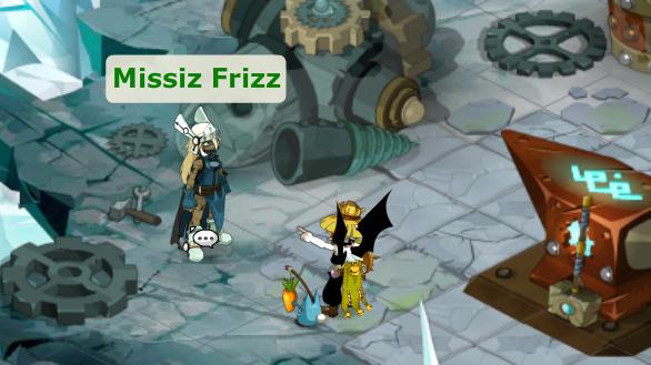 Nileza et Missiz frizz !