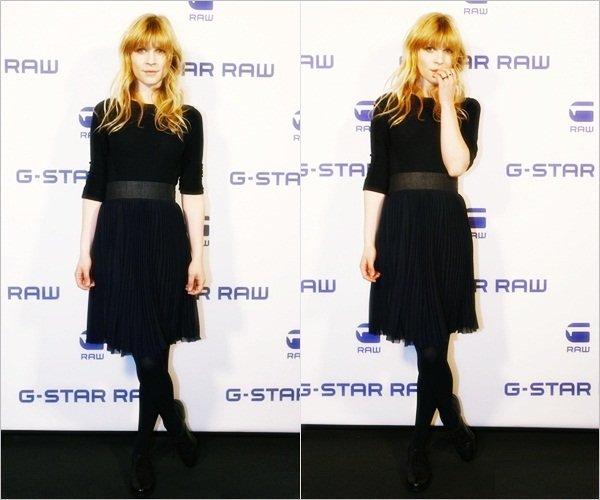 _ 18/01 : Clemence a assisté au défilé G-Star Raw à Berlin, dont est l'est devenue la nouvelle égérie.  _