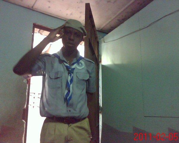 marco en mode scout