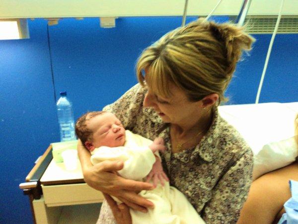 Mamy !!! Je suis son premier petit fils....Alors beaucoup d'émotion!!!