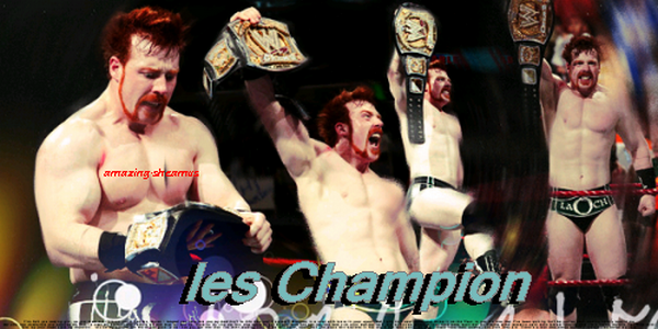 les champion on Amazing-Sheamus