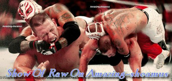 show of Raw On Amazing-Sheamus