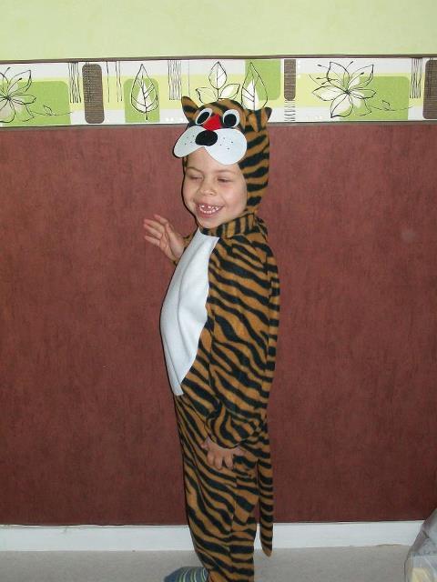 Mon p'tit tigre :)