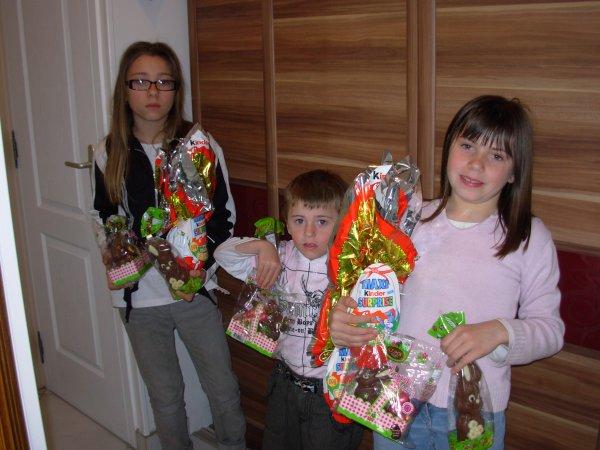 Le week-end de Pâques