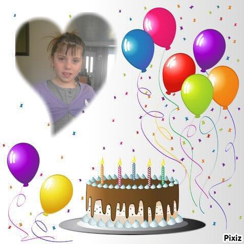 Demain on est le 16.04.2012 c'est l'anniversaire de ma fille Amélie