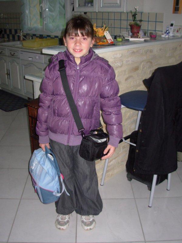 Voyage scolaire de ma fille Amélie