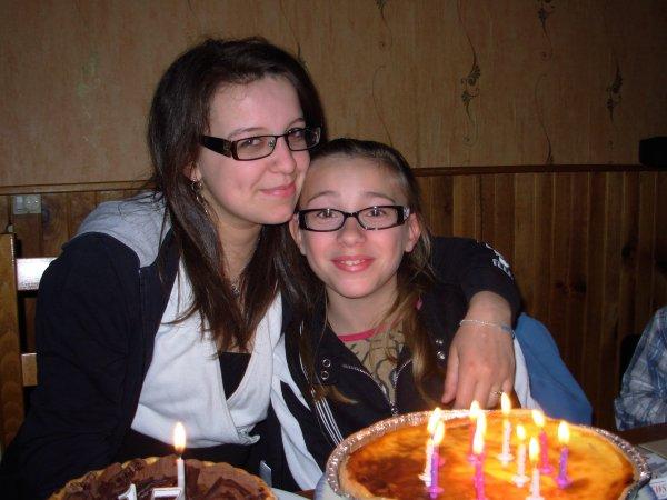 Julie 11 ans et Estelle 17 ans