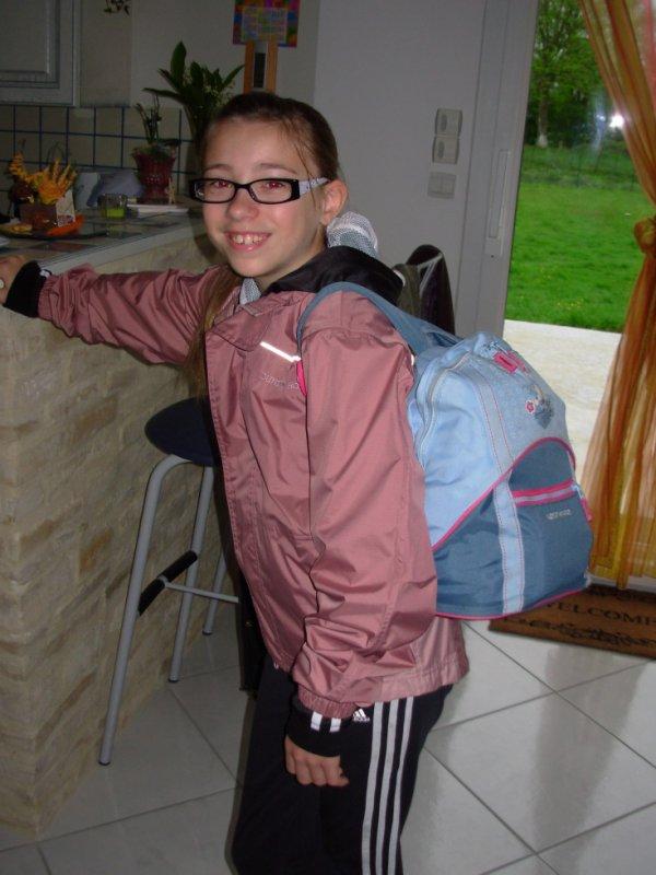 Le voyage scolaire de ma fille Julie