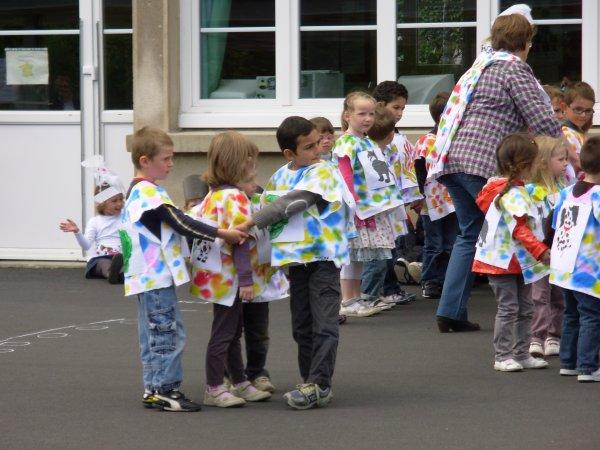Le 16.06.2012 c'était la kermesse de l'école