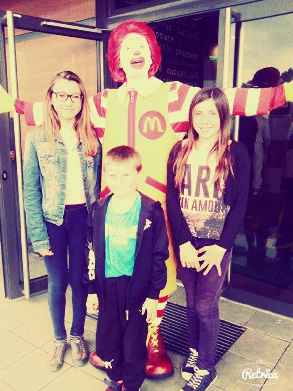 Mes enfants avec Mr MADO